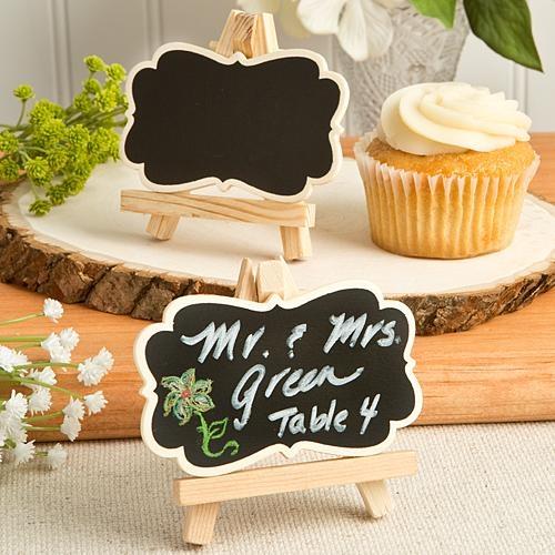 Cupcake Matrimonio Segnaposto.Segnaposto Lavagna Vintage Cavalletto Matrimonio Battesimo
