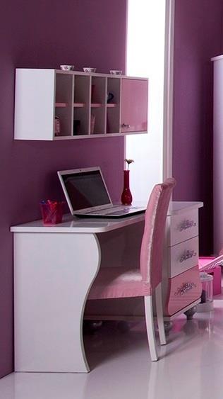 ... / Principessa Scrivania cameretta rosa bambina tastiera estraibile