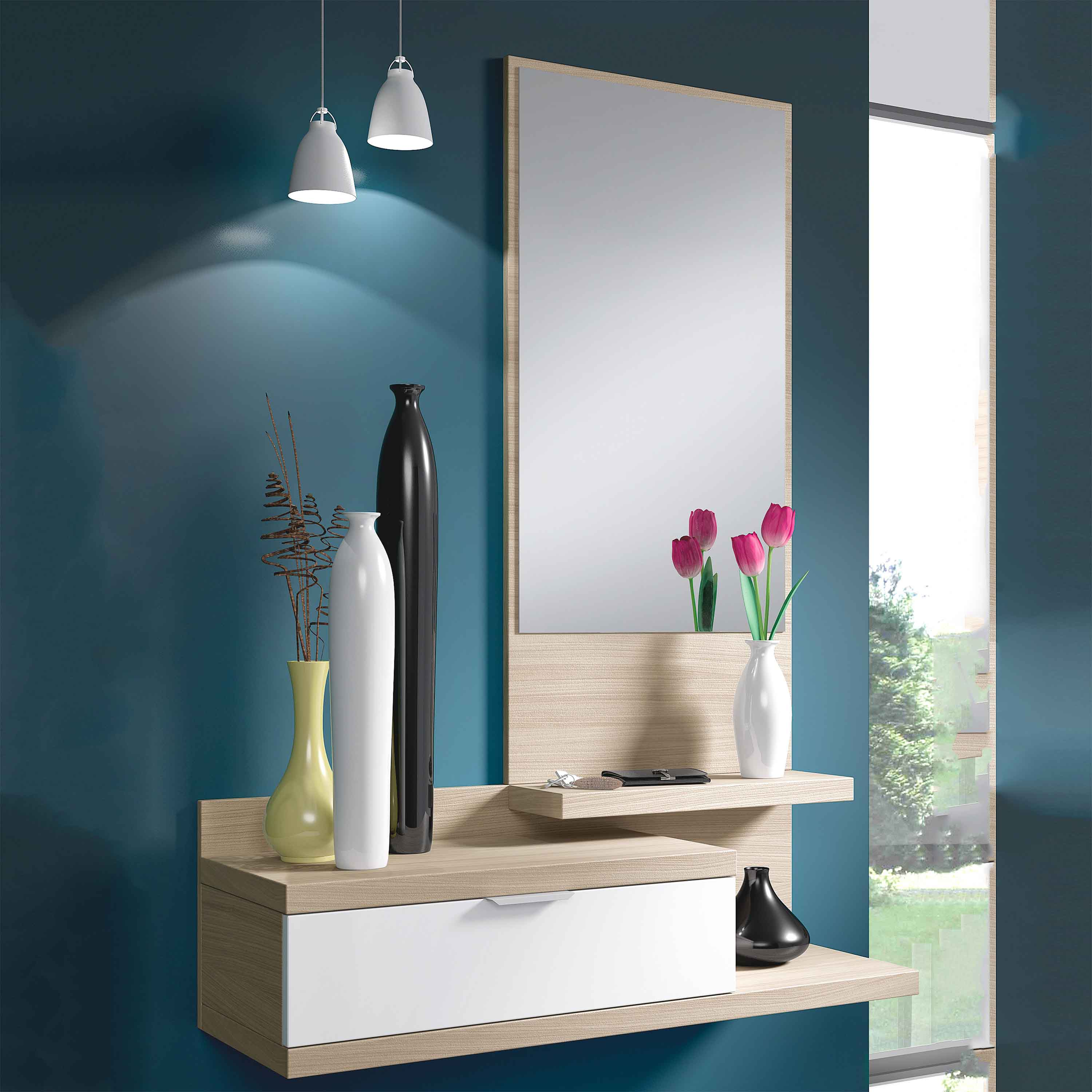 Miroirs-consolles-toilettes