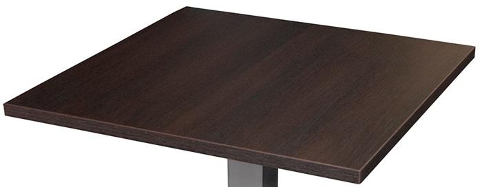 Piano Tavolo Spessore 25 Mm Legno Di Faggio Verniciato Color Wenge Dimensioni 80 X 80 Cm Design Si It